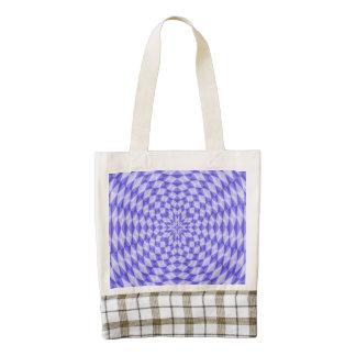 abstract Circle Pattern Zazzle HEART Tote Bag