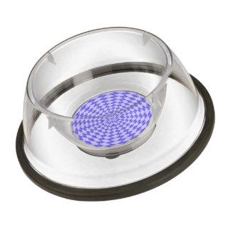 abstract Circle Pattern Pet Bowl