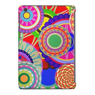 Abstract circle patterns iPad mini retina cover