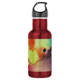 Abstract Circle 18oz Water Bottle