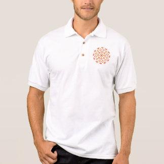 Abstract Circle Polo Shirt