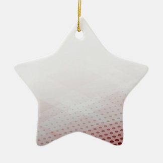 Abstract Circle & Rhombus Background Ceramic Ornament