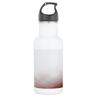 Abstract Circle & Rhombus Background Water Bottle