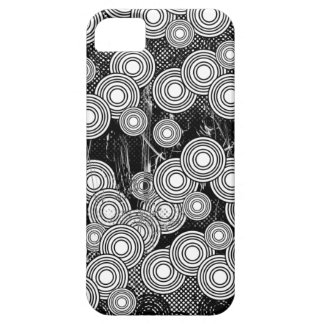 Abstract Circles Black & White Case-Mate ID iPhone