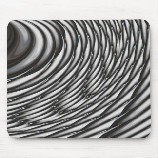 Abstract Circles - Contemporary Modern Art Mouse Pad