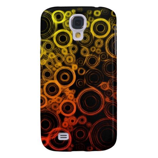 Abstract Circles Galaxy S4 Case