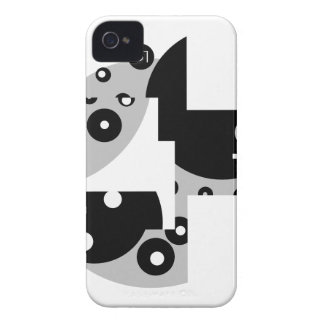 Abstract Circles iPhone 4 Case