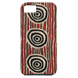 Abstract Circles iPhone SE/5/5s Case
