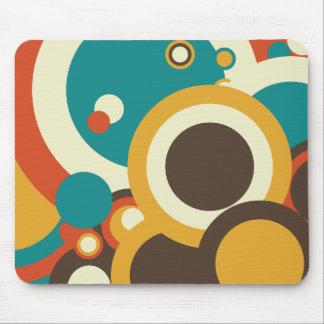 Abstract Circles Mousepad Mouse Pad
