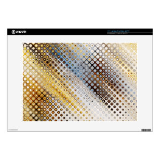 """Abstract Circles Pattern Skins For 15"""" Laptops"""