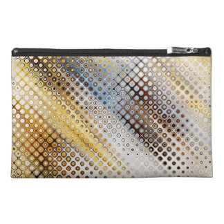 Abstract Circles Pattern Travel Accessory Bag