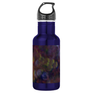Abstract Circles 18oz Water Bottle