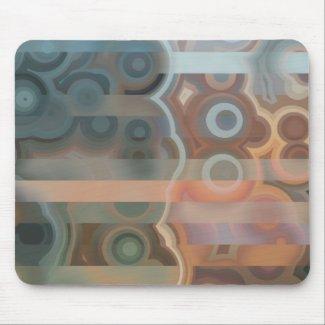 Abstract Circles Shapes and Lines mousepad