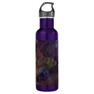 Abstract Circles Water Bottle