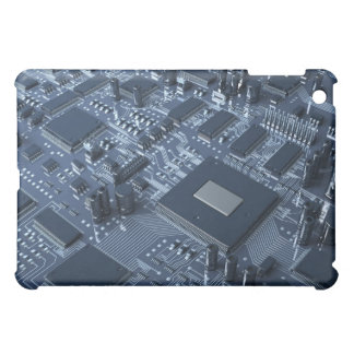 Abstract Circuit Board Case For The iPad Mini
