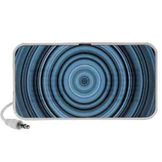 Abstract Circular Design iPod Speaker