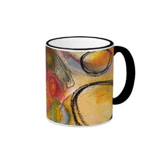 abstract cirlce Mug