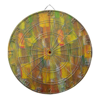 Abstract Cirlces Dart Board
