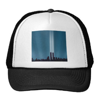 Abstract City City Lights Trucker Hat