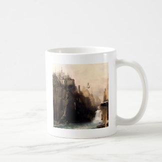 Abstract City Cliff Coffee Mug