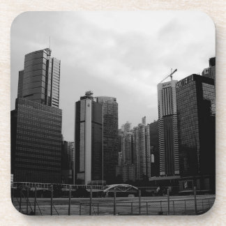 Abstract City Deserted City Drink Coaster