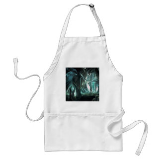 Abstract City Priest World Adult Apron