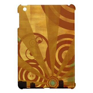 Abstract City Retro Bright Alive Case For The iPad Mini