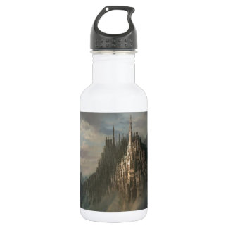 Abstract City Rock Stainless Steel Water Bottle