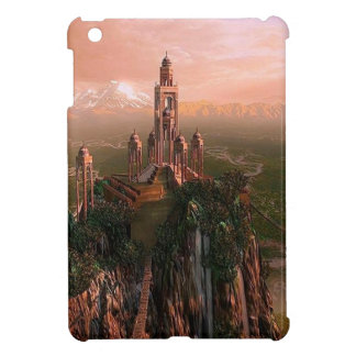 Abstract City Temple Of Light iPad Mini Covers