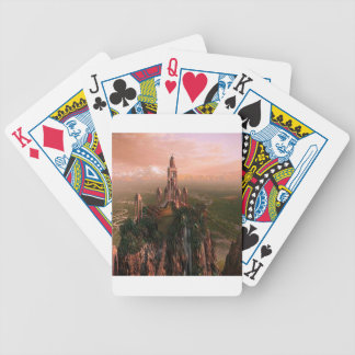 Abstract City Temple Of Light Card Decks