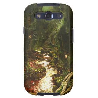 Abstract City Tree Discovery Samsung Galaxy SIII Cover
