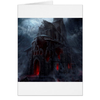 Abstract City Vampire Mill Card
