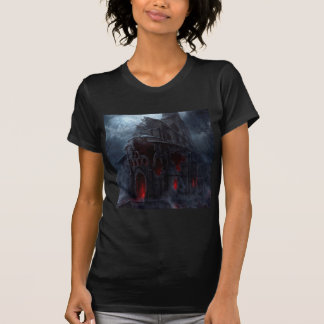 Abstract City Vampire Mill T-Shirt