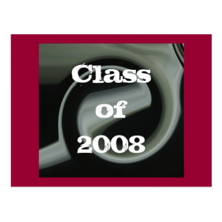 Abstract Class of 2008 Postcard