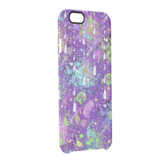 abstract clear iPhone 6/6S case
