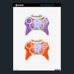 "ABSTRACT CLEAR XBOX 360 Wireless Controller Skin<br><div class=""desc"">ABSTRACT CLEAR XBOX 360 Wireless Controller Skin