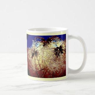 Abstract Clematis Image Digital Art Coffee Mug