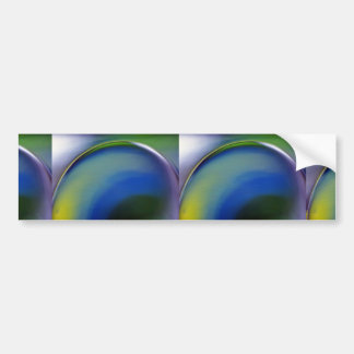 Abstract Close-up of glassware Car Bumper Sticker