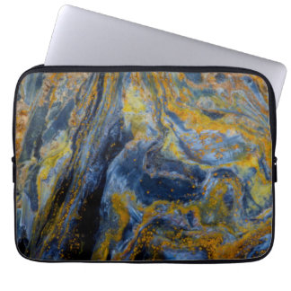 Abstract Close up of Pietersite Computer Sleeve