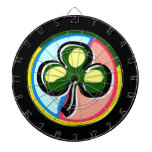 abstract clover colored circle behind.png dart boards