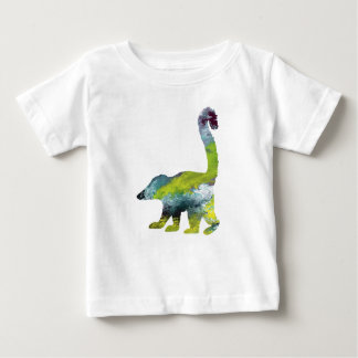 Abstract  Coati Silhouette Baby T-Shirt