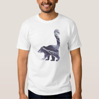 Abstract  Coati Silhouette T Shirt