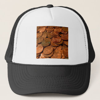 Abstract Coin Collection Trucker Hat