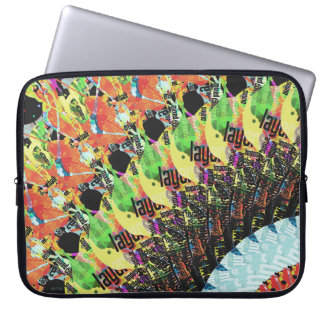 Abstract Collage of Colors 5 Laptop Computer Sleeves