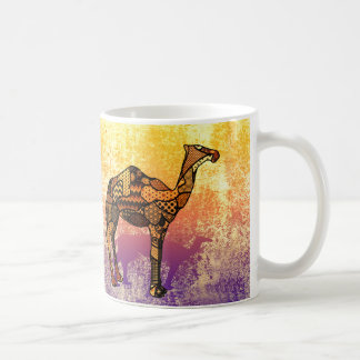 Abstract Collage Ozzy the Camel ID102 Coffee Mug