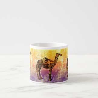 Abstract Collage Ozzy the Camel ID102 Espresso Cup