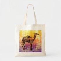 Abstract Collage Ozzy the Camel ID102 Tote Bag