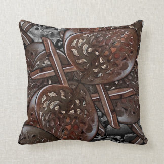 Abstract Collage Pillow