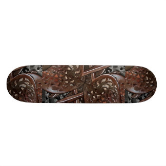 Abstract Collage Skateboard