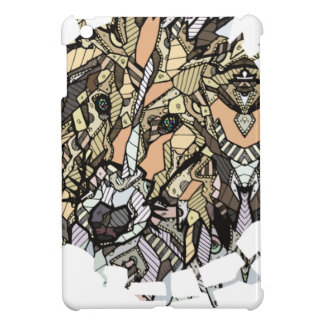 ABSTRACT COLLIE iPad MINI COVERS